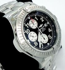BREITLING Super Avenger A13370 48mm Chronogaph Automatic Black Dial Men's Watch
