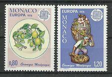 CEPT 1976/ Monaco MiNr 1230/31 **