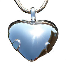 Strong EMF Protection- Level 2 Sterling Silver BioElectric Shield Heart Reg $387