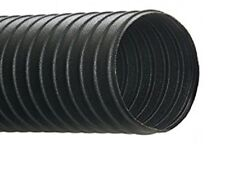 4''ID UFD URETHANE HOSE/DUCTING BLACK STANDARD WEIGHT .035'' WALL, 50 FT