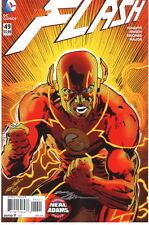 11x17 Neal Adams Variant Cover SIGNED DC Comic Art Print ~ Flash #9 Frank Miller