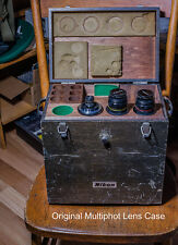 Nikon Multiphot Macro Nikkors Wooden Case (original)