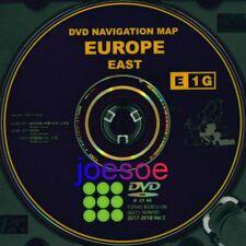 ***NEW*** Toyota/Lexus original navigation DVD E1G 2017/2018, East europe *TOP*