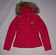 Hollister by Abercrombie & Fitch  Women's Pink Cardiff Coat Faux Fur NWT!!