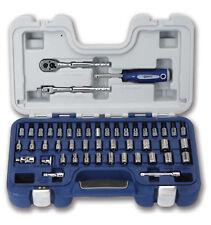 """47pc Set 1/4""""Dr SAE&Metric Supertorque®6Pt Sockets,Drive Tools & Hex Bits 50601A"""