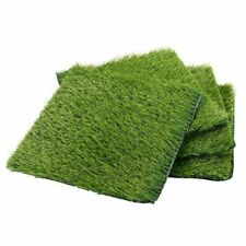 Artificial Synthetic Grass Turf Patch Tile (4 Pack) 12 Inches