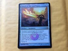 Miscut Foil Sword of War and Peace Misprint MTG Magic EDH Commander GENUINE