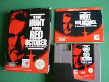 Nintendo NES THE HUNT OF RED OCTOBER Complet PAL B FRA near MINT