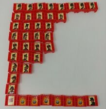 Stratego Board Game 1999 Replacement Pieces - Complete Set Of 40 Red