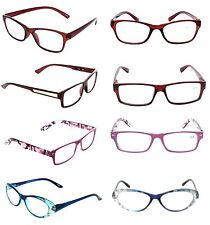 Lot 3 Women Optical New Reading Glasses Clearance Deal Ladies +2.00