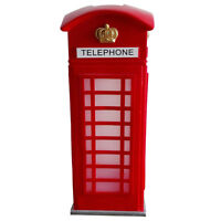 Telephone Box metal ornament 84109 by Rolson