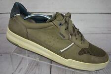 Ecco Men's Lace Up Casual Tennis Athletic Shoes Brown Size Eur 45 Us 11/11.5
