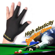 1Pc Snooker Billiard Cue Gloves Pool Left Hand Open Three Finger Glove Noted