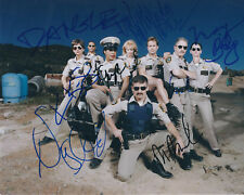 RENO 911 AUTOGRAPHED PHOTO SIGNED 8X10 #3 TOOK 7 YEARS TO FINISH 8 AUTOS RARE