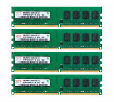 Intel 4X 2GB 2RX8 PC2-5300U DDR2 667MHz 240PIN Desktop Memory RAM DIMM For Hynix