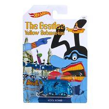 Hot Wheels 2016 The Beatles Yellow Submarine Kool Kombi Vehicle Blue 6/6