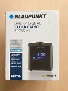 Blaupunkt DAB / FM Digital Clock Radio , BPCRB - A1, 20 Preset Channels