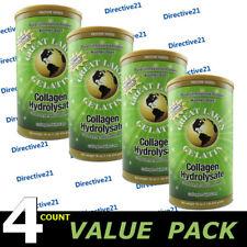 Great Lakes Gelatin Collagen Hydrolysate 16 oz Beef Kosher - Protein - 4 Count