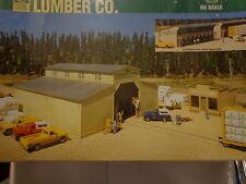 Walthers HO #933-3057 Walton & Sons Lumber Company (Kit Form)