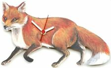 Fox Collectable Wooden Wall Clock Hunting Gift