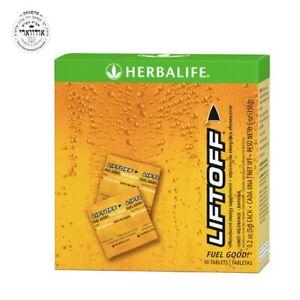 Herbalife Liftoff Effervescent Energy Supplement Tablet : Orange 30 tablet