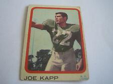 1963 TOPPS CFL FOOTBALL RARE JOE KAPP CARD #3***B.C. LIONS***