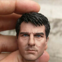 Delicate Painting Hot 1/6 Scale Edge of Tomorrow Tom Cruise Head Sculpt Fit 12""