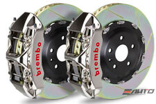 Brembo Front GT Brake BBK 6pot GT-R 365x34 Slot Corvette Z06 Grand Sport 06-14