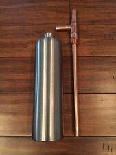 Alcohol Distilling Moonshine Thumper Stainless Steel Half Gallon Ethanol Doubler