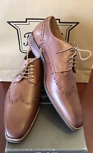 Florsheim BRAND NEW Cognac Burnished Leather Men's Shoes EU 46 (AU Size 12)