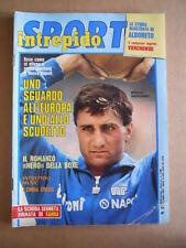 INTREPIDO n°31 1985 Bruno Giordano Alboreto Story Vierchowod  [G493]