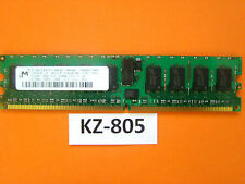 MT Micron 512MB 1RX4 pc2-3200r-333-12-co MT18HTF6472Y-40EB2 DDR2#kz-805