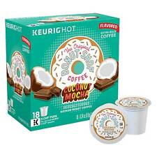 The Original Donut Shop® Coconut Mocha Coffee - K-Cup Pods - 18ct