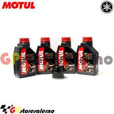 TAGLIANDO OLIO + FILTRO MOTUL 7100 10W30 YAMAHA 750 FZR R OW01 1991