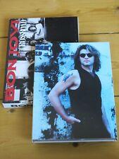 3 disc (2 CD & DVD) BON JOVI Crossroad/B-sided/Rarities/Live in London  box set
