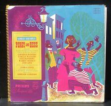 Gershwin Porgy and Bess Lehman Engel Original mono edition Philips 01115 à 01117