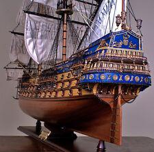 """SAN FELIPE 48"""" wood model ship large scaled Spanish sailing boat"""
