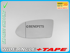 Wing Mirror Glass OPEL ZAFIRA A 1999-05 Wide Angle + TAPE Left Side /F017 23