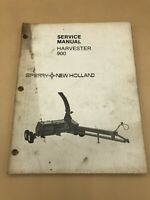 New Holland 900 Harvester Chopper Operators 1985 Service 1984 Manuals Set Lot