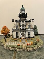 Fall At Fort Thompkins Harbour Lights New York #656 Handmade Scale Model