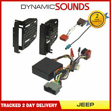 InCarTec FK-720 2-DIN Fitting Kit for Jeep Commander Compass Patriot Wrangler