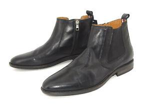 Tommy Hilfiger Schuhe Chelsea Boot Herren Stiefel Stiefeletten Leder Gr. 44