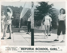 Reform School Girl Original Lobby Card Gloria Castillo Yvette Vickers 1957