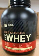 Optimum Nutrition Gold Standard 4lbs 100% Whey Protein Vanilla Ice Cream