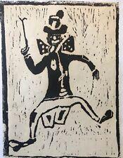 Gravure sur bois 4-22 Afreux Jojo signée Alphons Eutowicz 1979