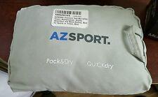 AZSPORT Blue Soft Microfiber Absorbent Towel With Bag Beach Sport Gym Travel New