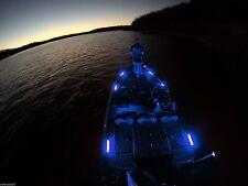 LED Interior Lighting Kit - 6pc BLUE - Boat, Pontoon, Night Fishing