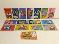 Lot of Vintage Japanese Mobile Suit Gundam Cardboard Trading Cards