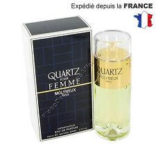Quartz pour Femme Molyneux Paris Eau de Parfum 100ml +1 Échantillon