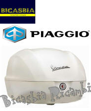 9433 - BAULETTO POSTERIORE  BIANCO MONTEBIANCO 544 VESPA 50 125 150 SPRINT